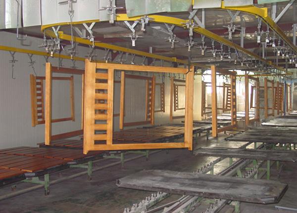 家具厂有机废气处理施工内部结构图