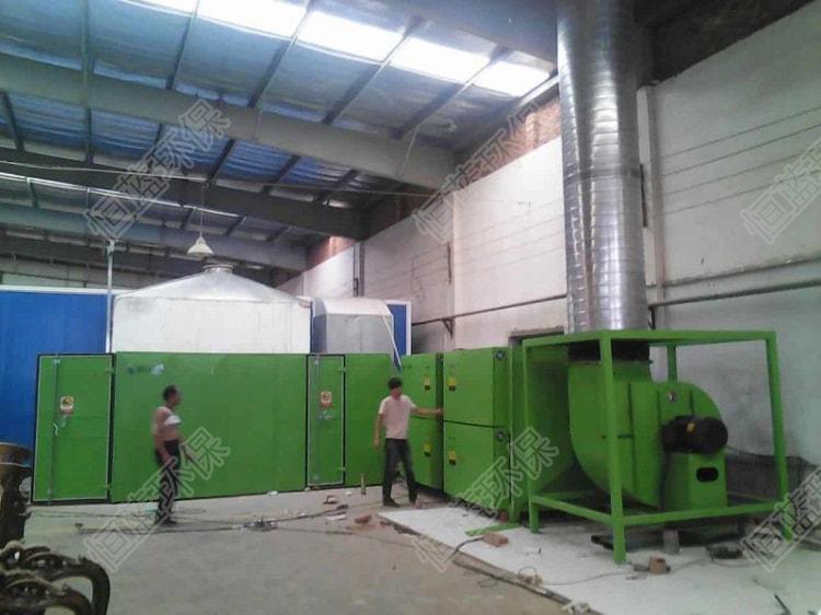 天津家具厂voc废气处理工程