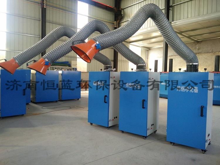 焊接烟尘净化装置的工作原理