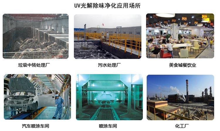 臭气处理设备中的uv光解净化器的应用