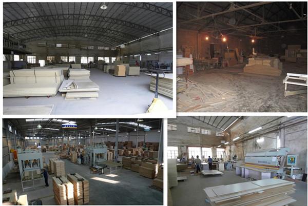 图为好几个家具厂废气治理方案实施以前的现场相片。