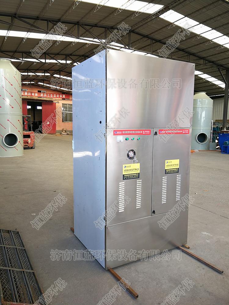 汽修喷漆房废气处理设备准备打包