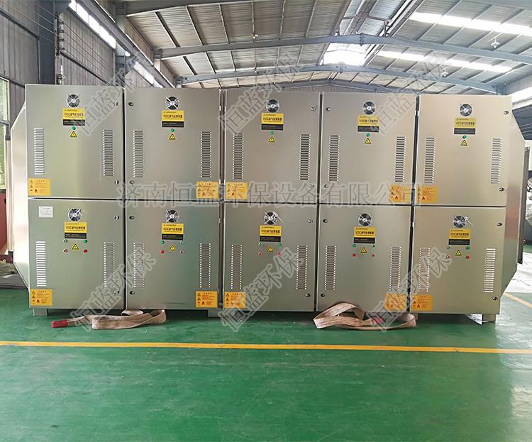50000风量光解催化设备准备打包