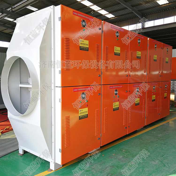50000风量镀锌板喷塑光解催化设备