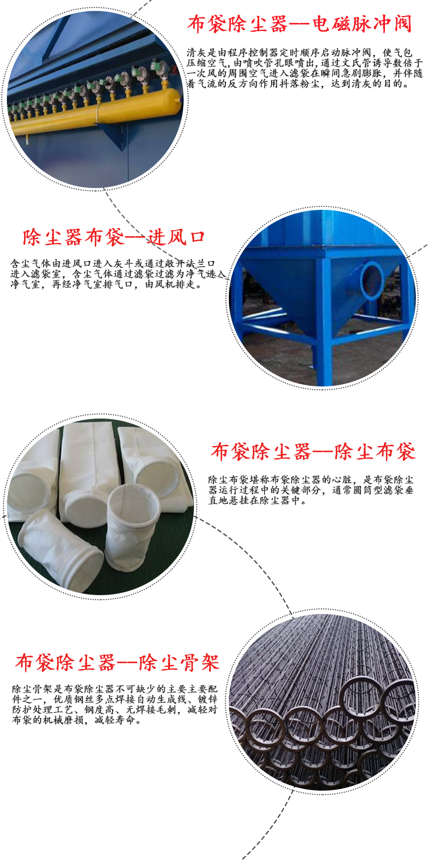 96袋脉冲式布袋除尘器细节介绍