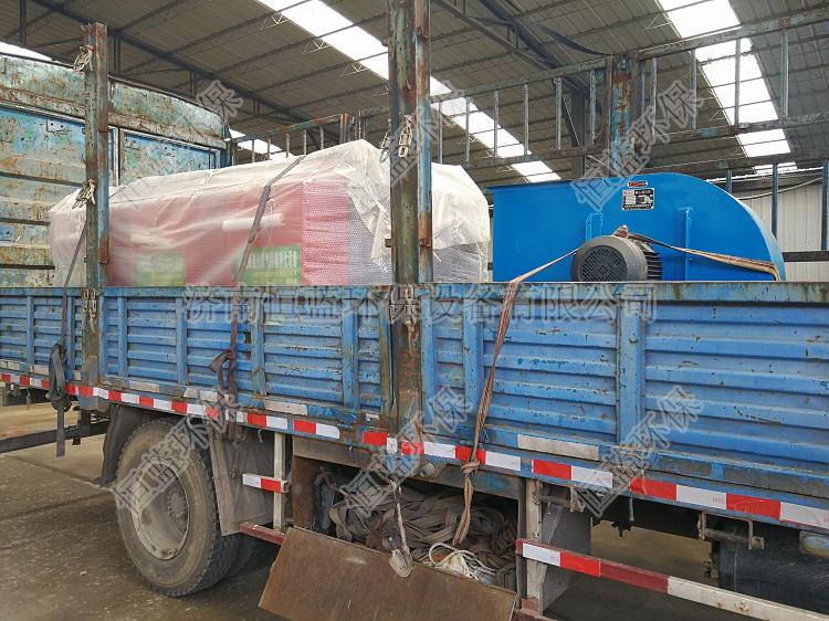 1.5万风量光氧化设备发往沧州01