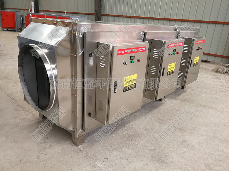 1.5万风量低温等离子废气净化设备01