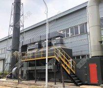 废气处理中的voc催化燃烧工艺的介绍