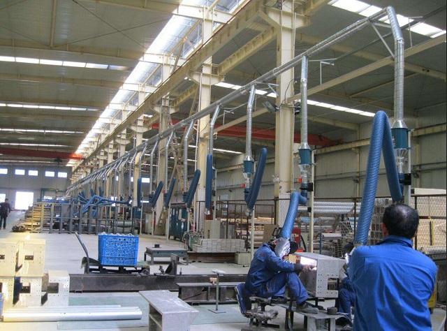 焊接过程中的废气怎样收集比较好?