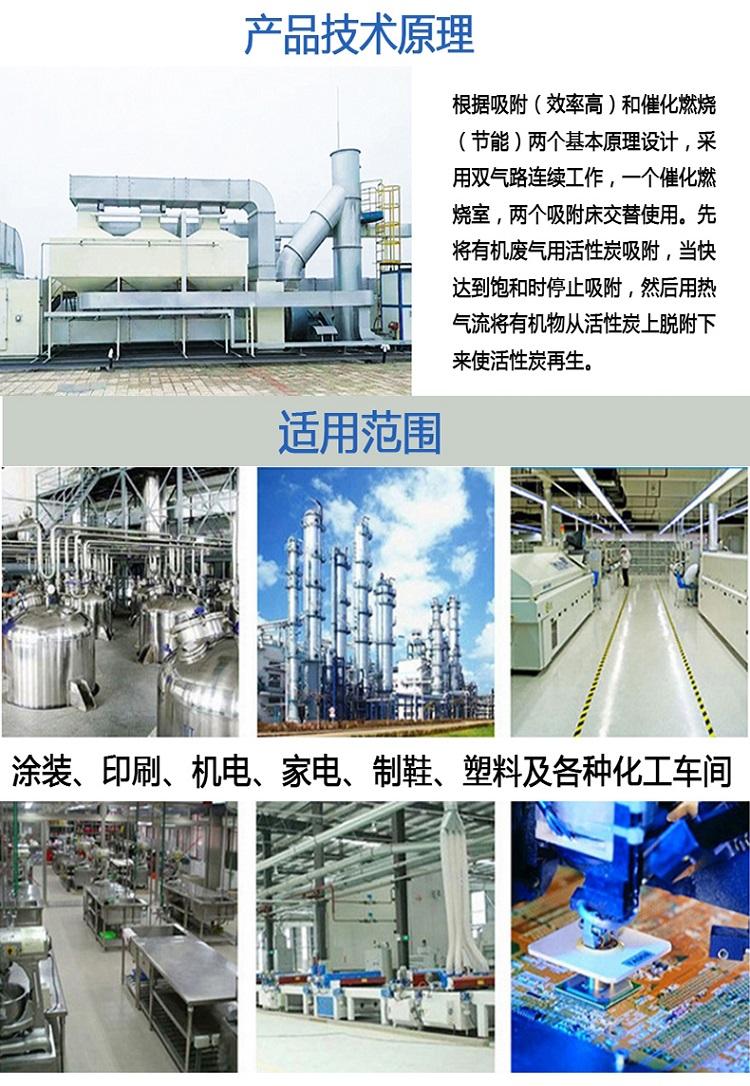催化燃烧装置技术原理