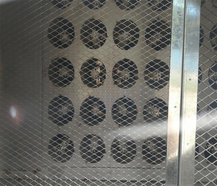 等离子废气处理设备用的蜂窝电场