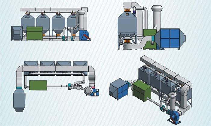 催化燃烧废气处理设备构造原理图
