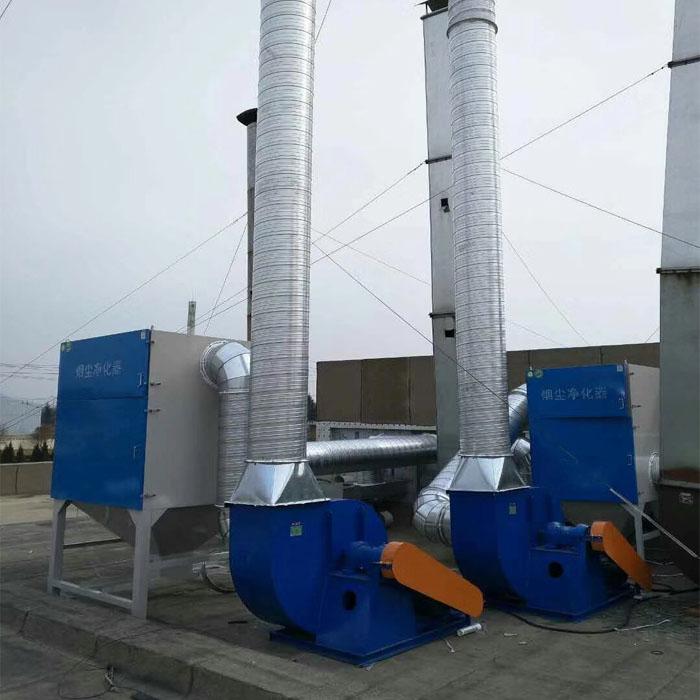 塑料厂注塑车间废气怎么处理的工程案例