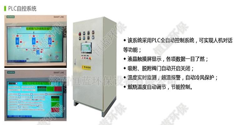 低温有机废气催化燃烧处理设备PLC控制