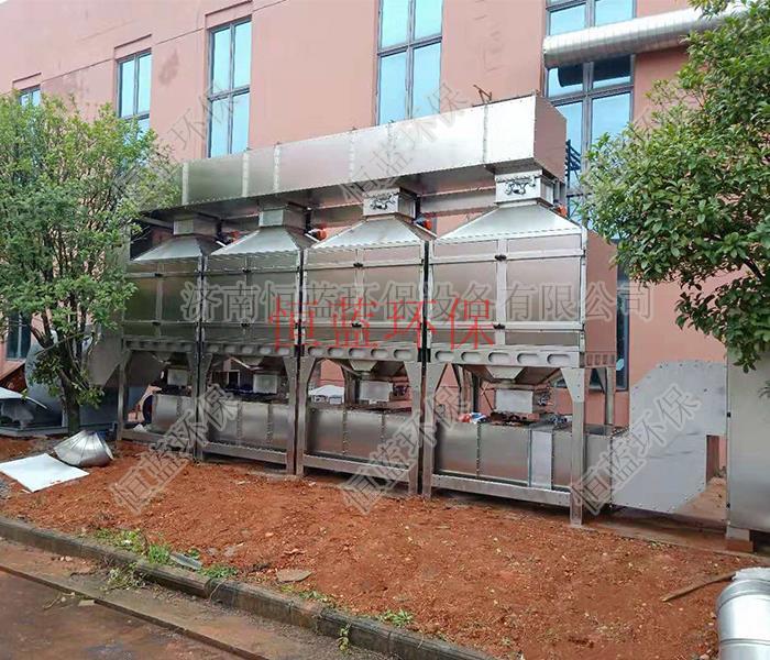焊锡排放的有害废气如何处理