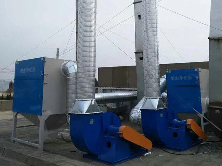 焊接车间废气净化方案