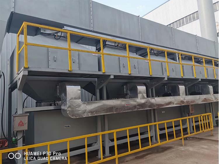 RCO催化燃烧设备安装过程中