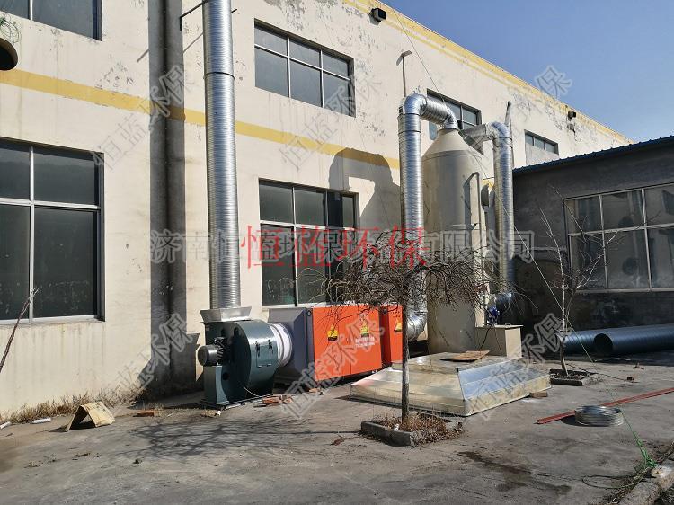橡胶密封条废气处理工程