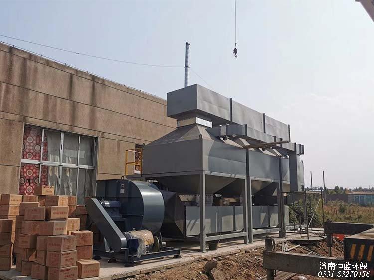 废气处理常用的催化燃烧设备