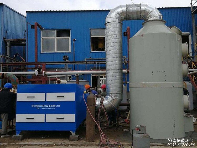 硫化氢气体用什么设备处理?