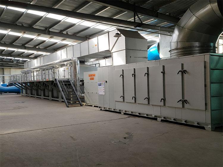 依托催化燃烧废气处理设备技术说明优化安装策略