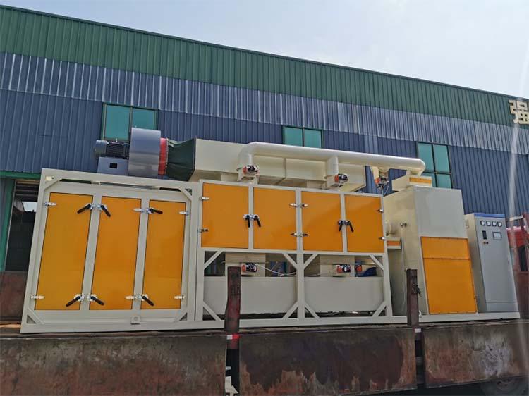 30000风量催化燃烧装置工程案例实拍02